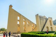 Samrat Yantra på Jaipur arkivfoto