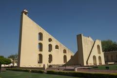Samrat Yantra Sundial en Jaipur, viaje a la India Foto de archivo libre de regalías