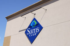 Sams Club warehouse Stock Photo