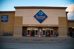 Sams-Clubingang Royalty-vrije Stock Afbeeldingen