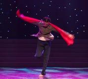 Samsara-The十年浩劫题材现代舞蹈 免版税库存照片