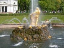 Samson-Brunnen Lizenzfreie Stockfotografie