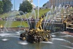 Samson fontain Στοκ Εικόνα