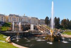 Samson Fountain Imagens de Stock