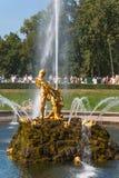 Samson Fountain Foto de Stock Royalty Free
