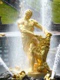 Samson Fountain, Peterhof Lizenzfreie Stockfotografie
