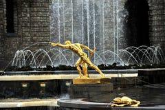 Samson Fountain,Peterhof Palace, Russia, Russia stock photography