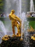 Samson Fountain Royalty Free Stock Photography