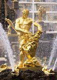 Samson fountain in Peterhof, Russia Royalty Free Stock Photography