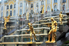 Samson Fountain, Russia Royalty Free Stock Photography