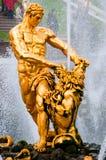 samson statua Fotografia Stock