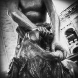 Samson Statue in Kiev Stock Images