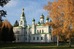 Samsonovskja church Royalty Free Stock Photos