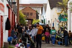 Samstag-Flohmarkt Lizenzfreie Stockfotos