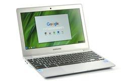 Samsung Chromebook 2 Immagini Stock Libere da Diritti