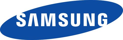 Samsung company logo. Samsung is a South Korean multinational conglomerate headquartered in Samsung Town, Seoul. It comprises numerous affiliated businesses royalty free illustration
