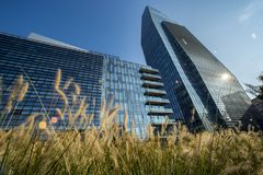 Samsung District, Italian Headquarter, Milan stock photos
