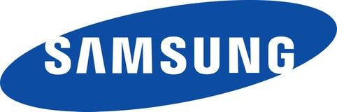 Samsung firmy logo royalty ilustracja
