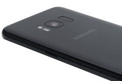 Samsung galaktyka S8 Zdjęcie Royalty Free