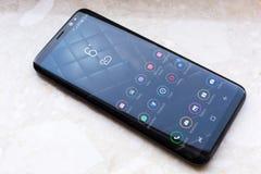 Samsung galax S8 Royaltyfria Bilder