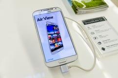 Samsung galax S4 Arkivbild