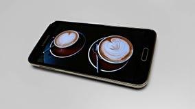 Samsung galax S5 Royaltyfri Fotografi