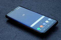 Samsung galax S8 Royaltyfri Bild