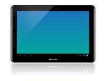 Samsung galaxflik 2 10,1 Fotografering för Bildbyråer