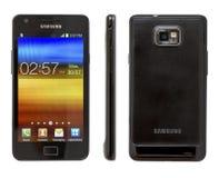 Samsung galaxSII Royaltyfri Foto