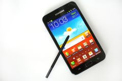 Samsung Galaxy Note Royalty Free Stock Photos