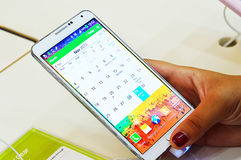Samsung Galaxy Note 3 Stock Images