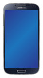 Samsung Galaxy S4 Black. Samsung Galaxy S4 isolated on white background Royalty Free Stock Image
