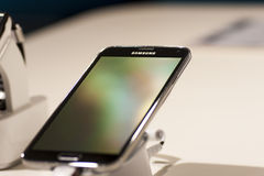 SAMSUNG GALAXY S5, MOBILE WORLD CONGRESS 2014 Stock Photo