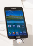 SAMSUNG GALAXY S5, MOBILE WORLD CONGRESS 2014 Royalty Free Stock Images