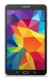 Samsung Galaxy Tab 4 7.0 LTE black. Illustration Royalty Free Stock Photo