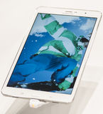 SAMSUNG GALAXY TAB PRO, MOBILE WORLD CONGRESS 2014 Stock Photos