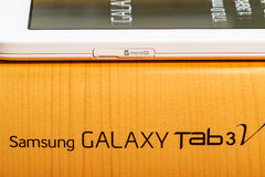 Samsung Galaxy Tab 3V Royalty Free Stock Photography