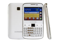 Samsung Galaxy Y Pro B5510 Royalty Free Stock Images