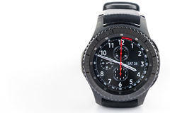 Samsung Gear S3 smart watch Royalty Free Stock Image