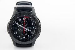 Samsung Gear S3 smart watch Stock Image