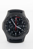Samsung Gear S3 smart watch royalty free stock photo