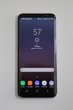 Samsung newest phone Galaxy S8 now being delivered to pre-order customers Stock Images