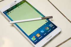 Samsung Note 4 Stock Images