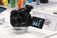 SAMSUNG NX30, MOBILE WORLD CONGRESS 2014 Stock Images
