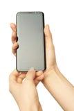 Samsung s8 συν υπό εξέταση Στοκ Εικόνες