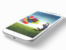 Γαλαξίας της Samsung S4 Στοκ φωτογραφία με δικαίωμα ελεύθερης χρήσης