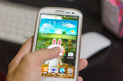 Samsung s3 Royalty Free Stock Photo