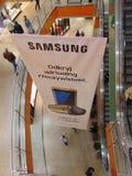 Samsung S7 et publicité de casque de VR Photos libres de droits