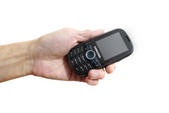 Samsung SCH u450 phone. Product info : Samsung SCH u450 cell phone Royalty Free Stock Photos