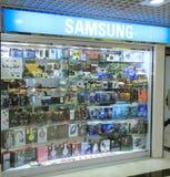 Samsung shop in hong kong Stock Photo